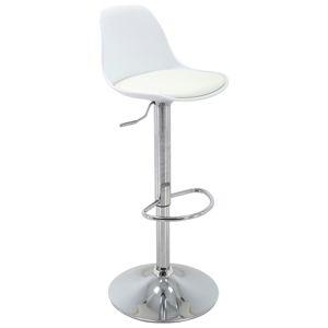 Barová Židle Scandi Bílá