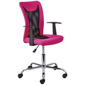 Dětská Otoční Židle Donny Růžová
