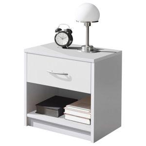Noční stolek Base Bílá