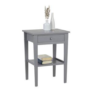 Noční stolek Mara Šedá
