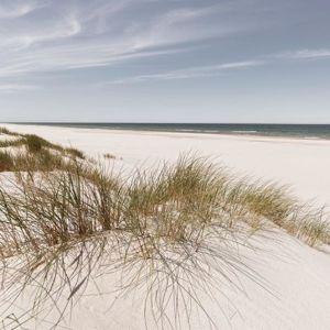 Obraz skleněný Coastal Dune Hill