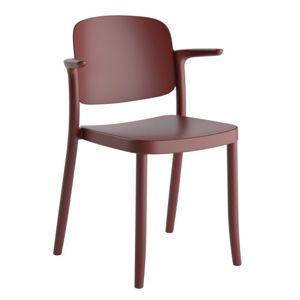 Plastová Židle s područkami Plaza Lilková
