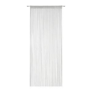 Provázková Záclona string, 90/245cm,stříbrná